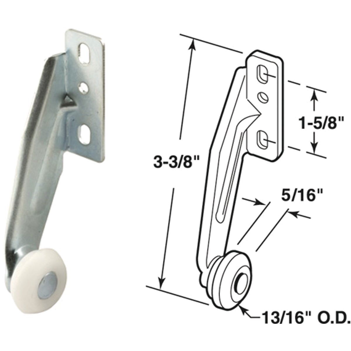 REAR ROLLER BRACKET - 22797 by Prime Line Products