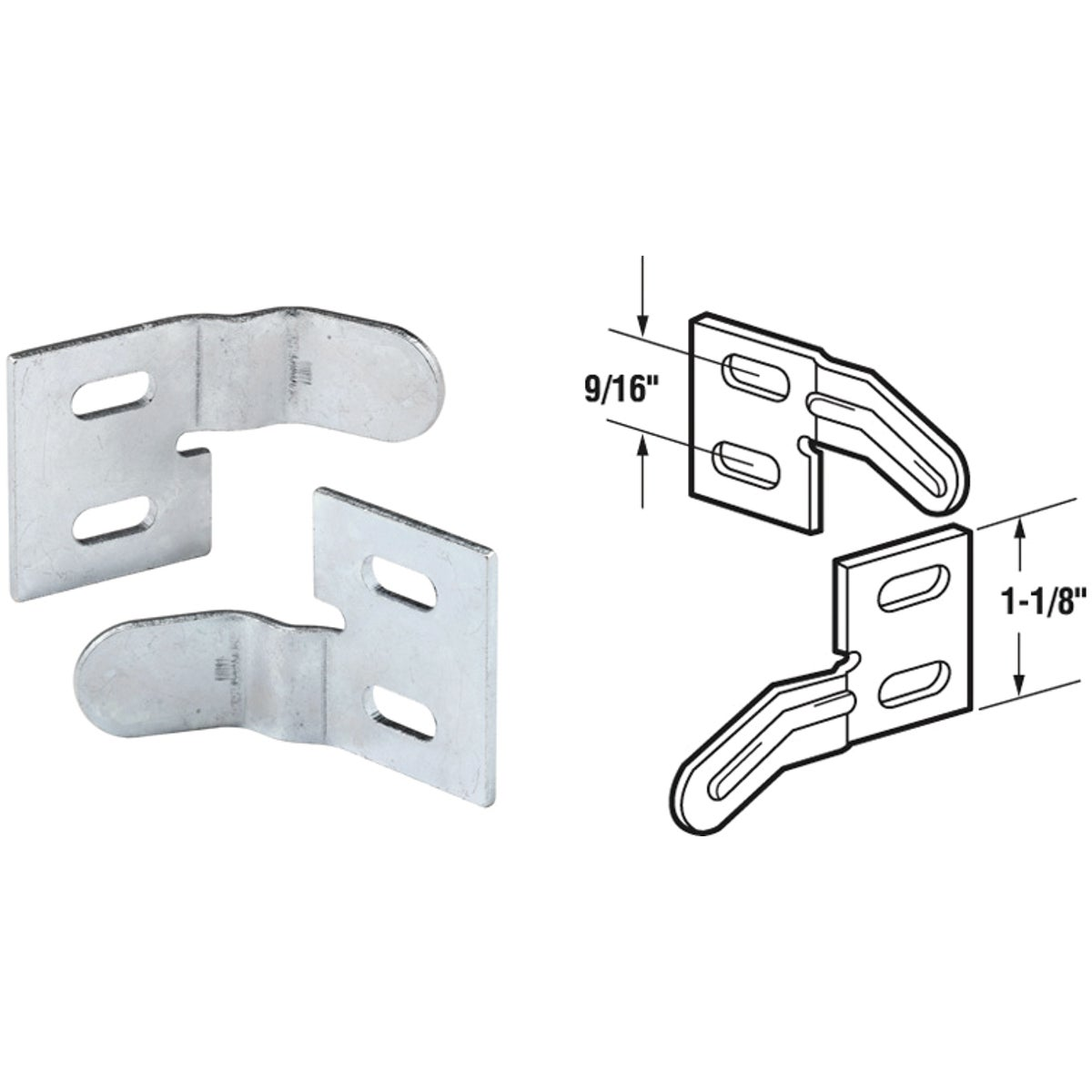 STEEL BI-FOLD ALIGNER - 161083 by Prime Line Products