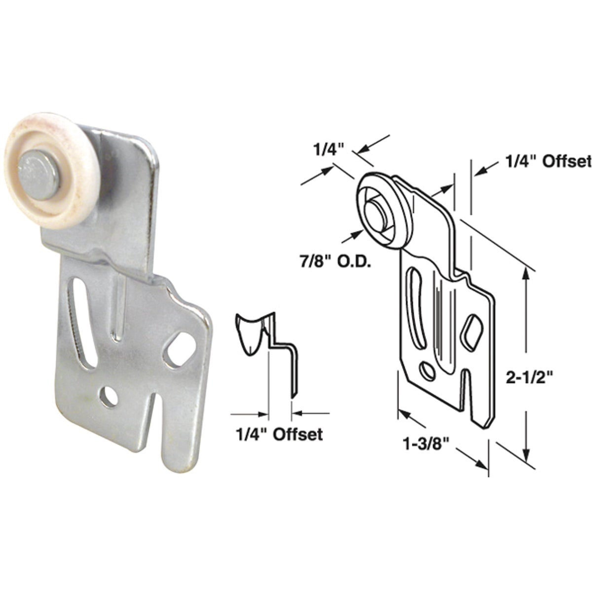 SINGLE WHEEL HANGER - 16216-F by Prime Line Products