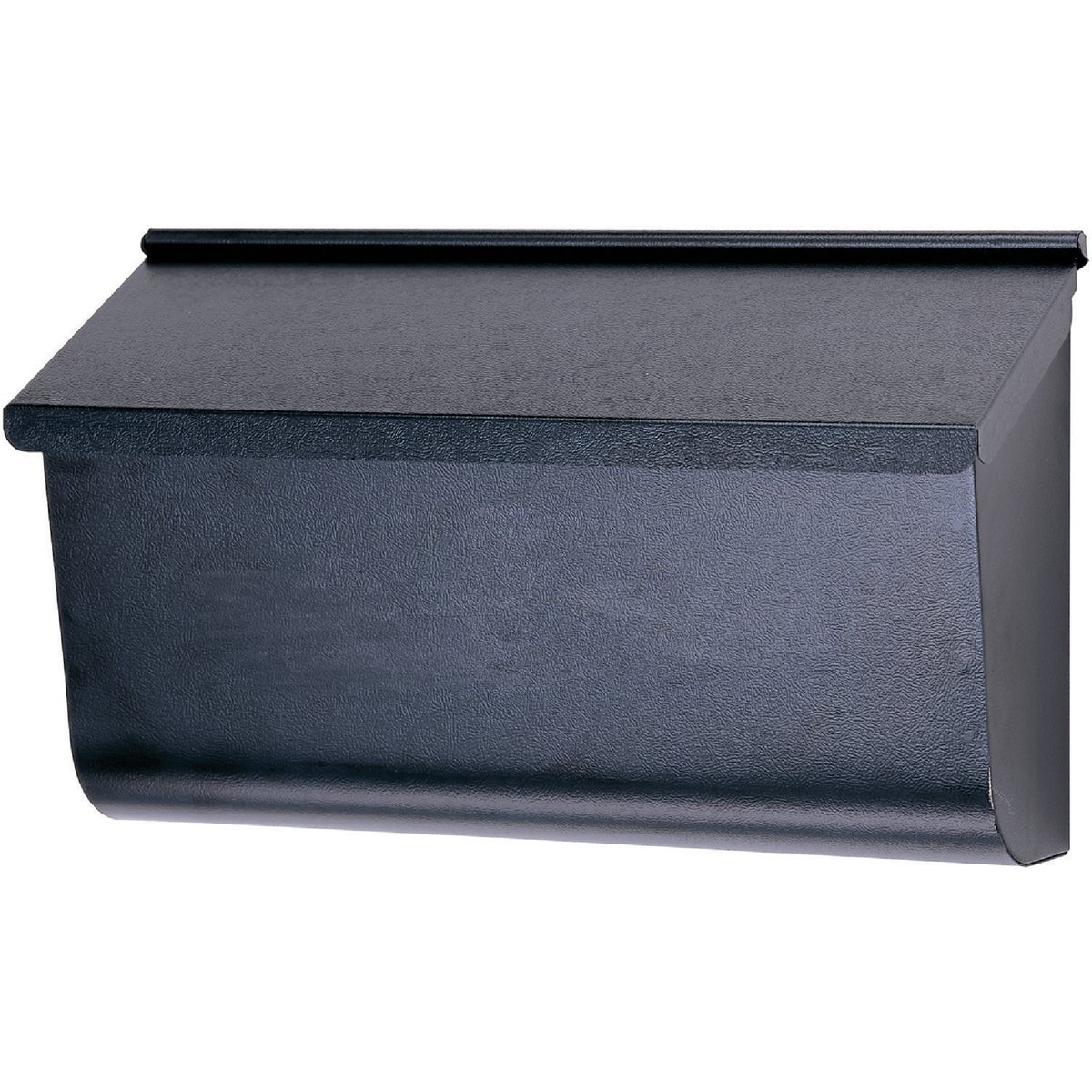 BLK HORZNTL WALL MAILBOX - L4010WB0 by Solar Group