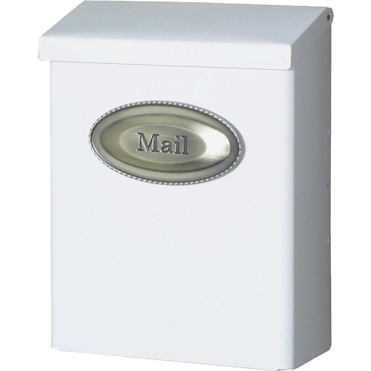 WHT VERT LOCKING MAILBOX - DVKW000 by Solar Group