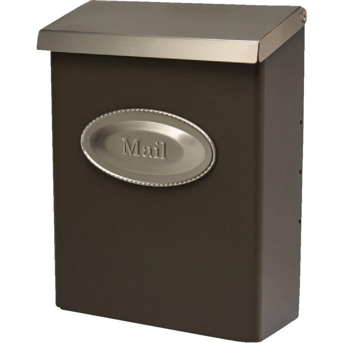 Vbrnze Vert Lock Mailbox