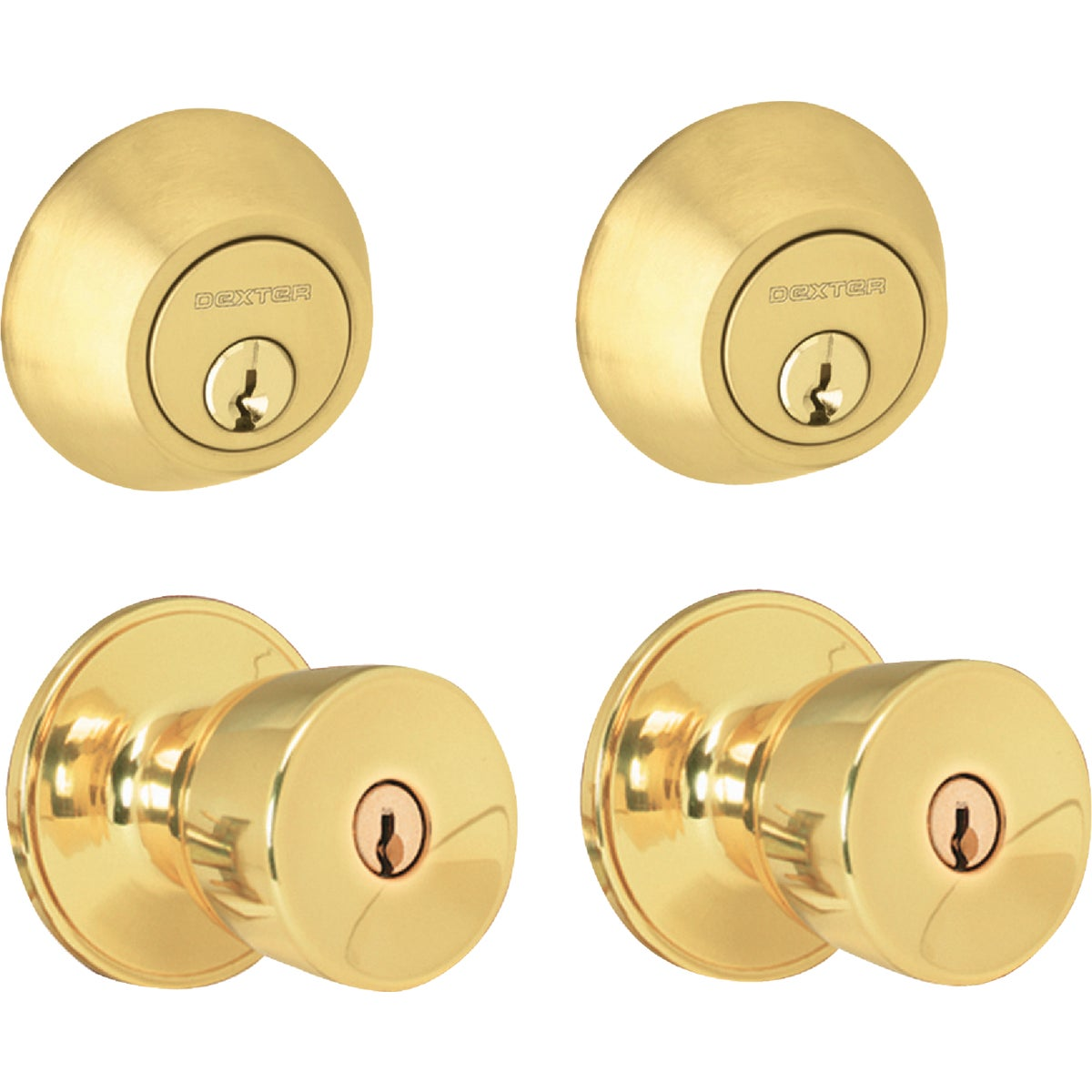 BB BYRON SECUTY TWIN - JCT60VBYR605 by Schlage Lock Co