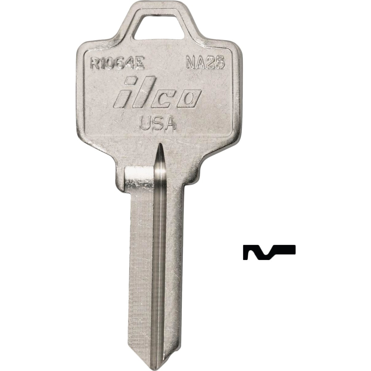 NA6 NATIONL CABINET KEY - DIB R1064D DIB by Ilco Corp