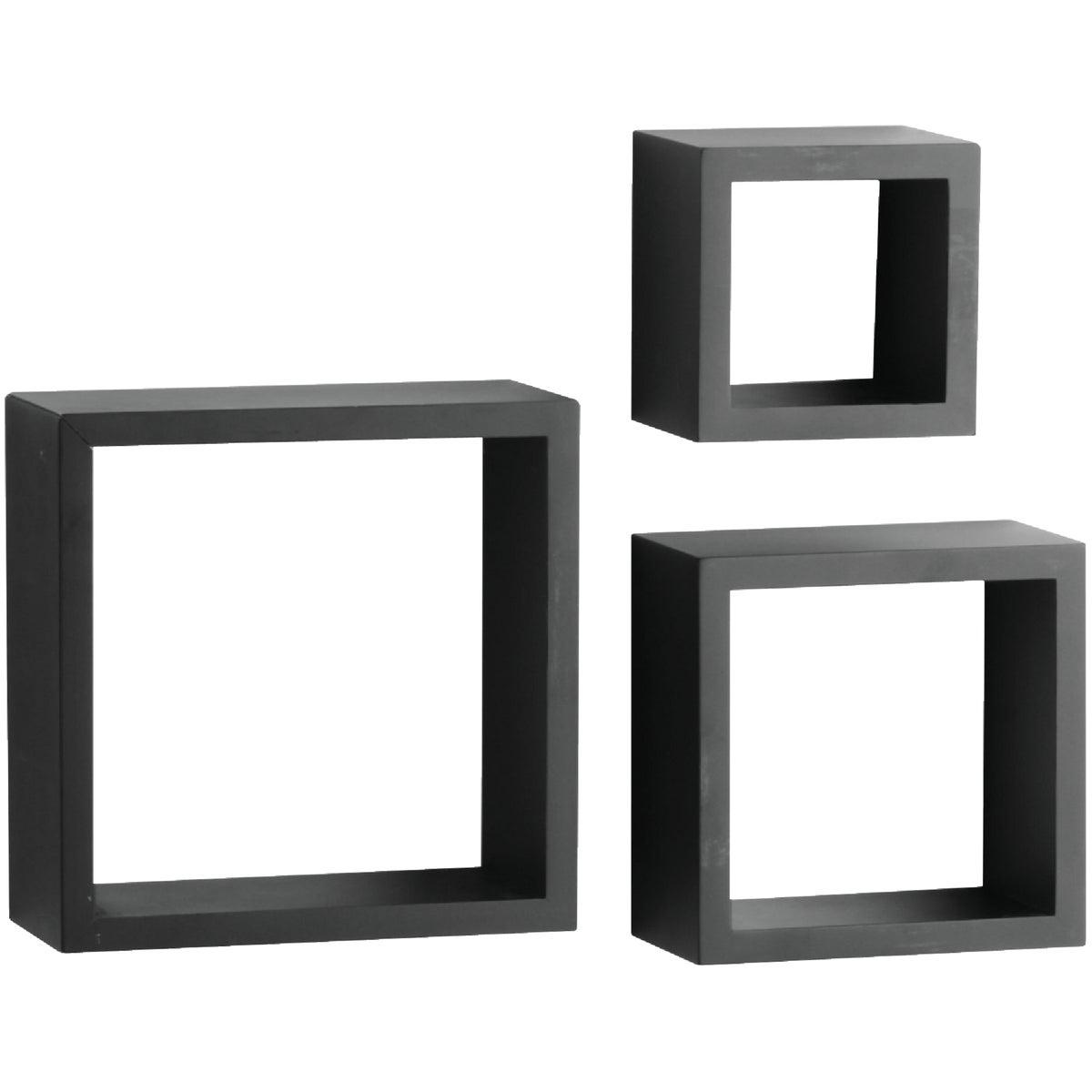 3PC BLACK SHADOW BOX SET