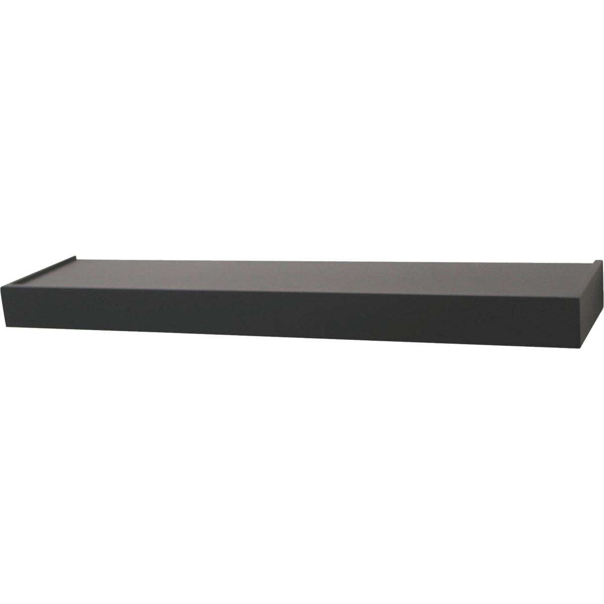 "36"" BLACK FLOATING SHELF"