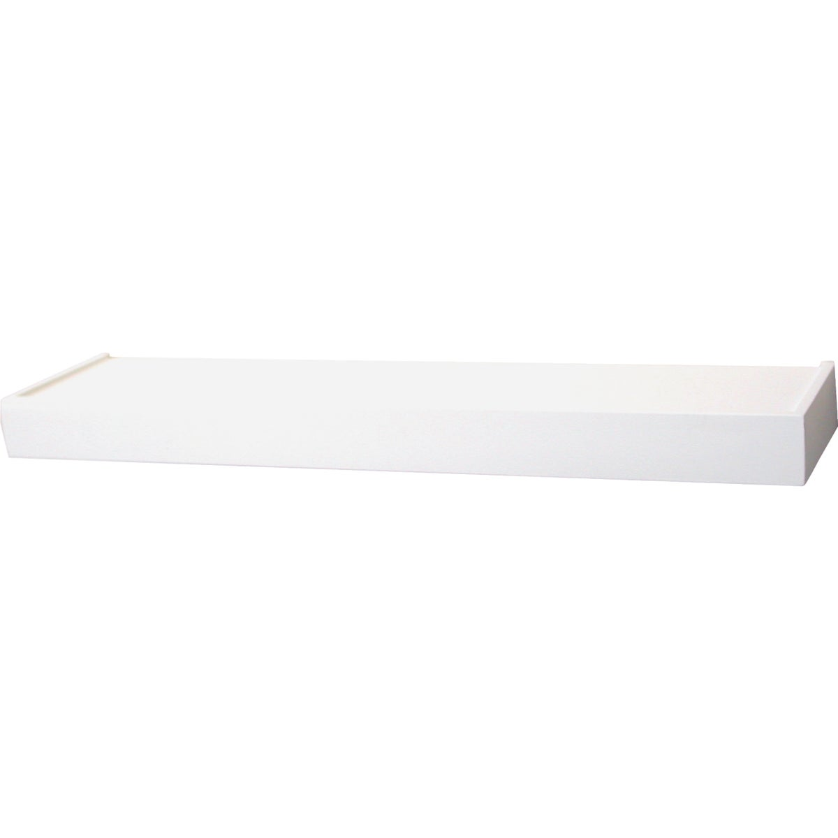 "36"" WHITE FLOATING SHELF - 0140-36WT by Knape & Vogt Mfg Co"