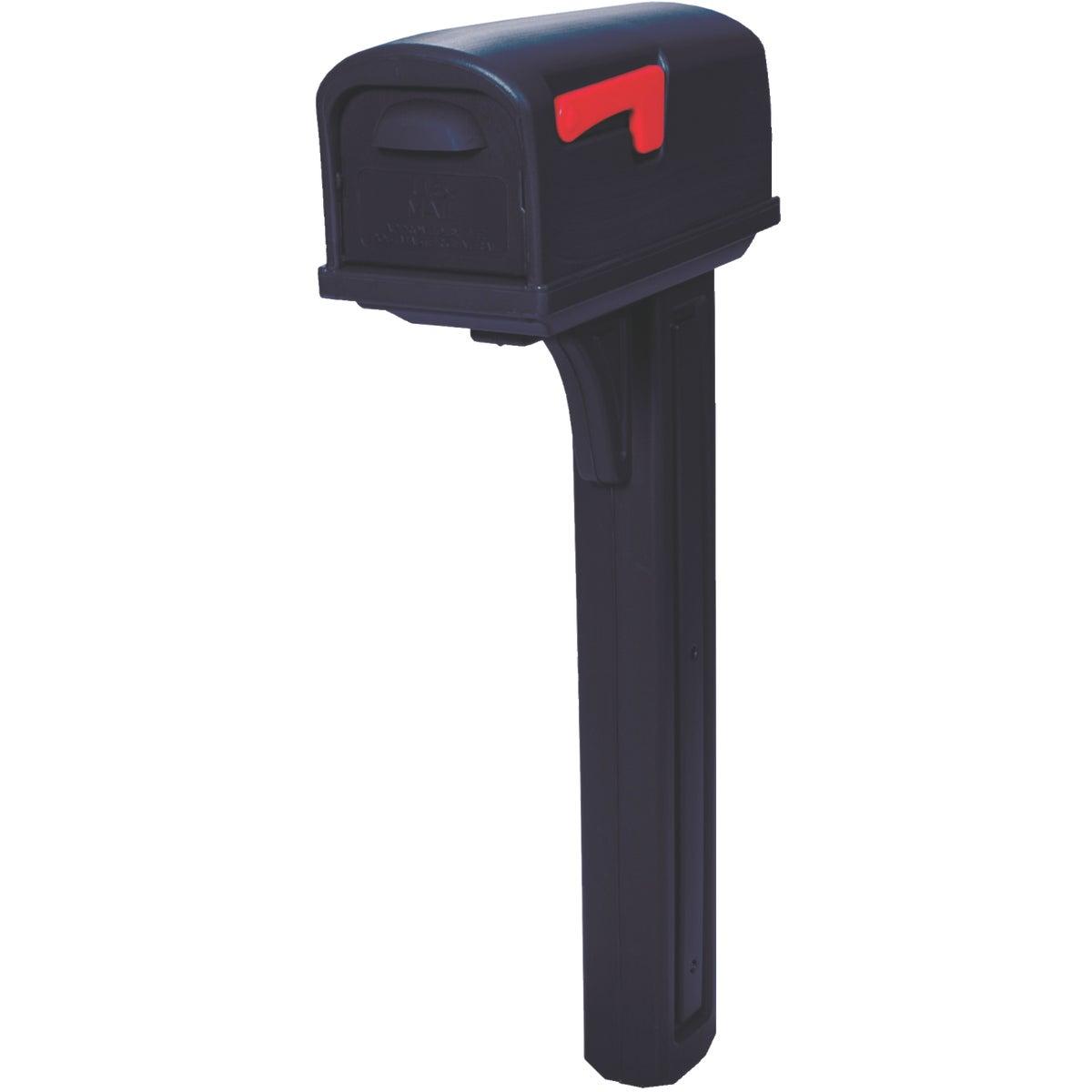 Black Combo Mailbox
