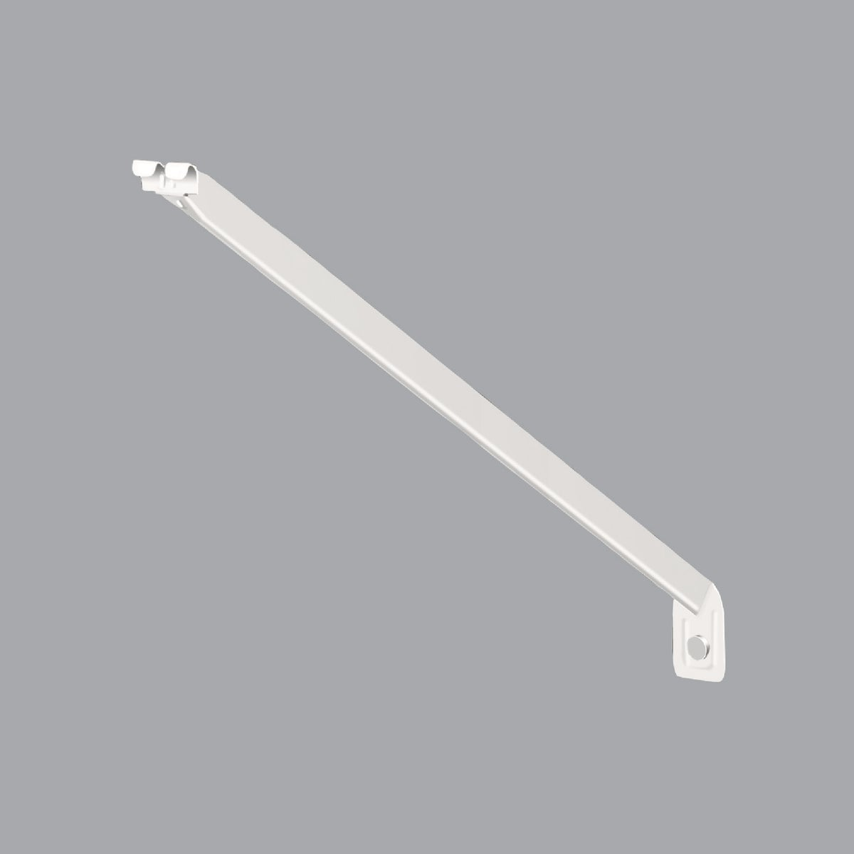 ClosetMaid 20 In. White Wire Shelving Support Bracket