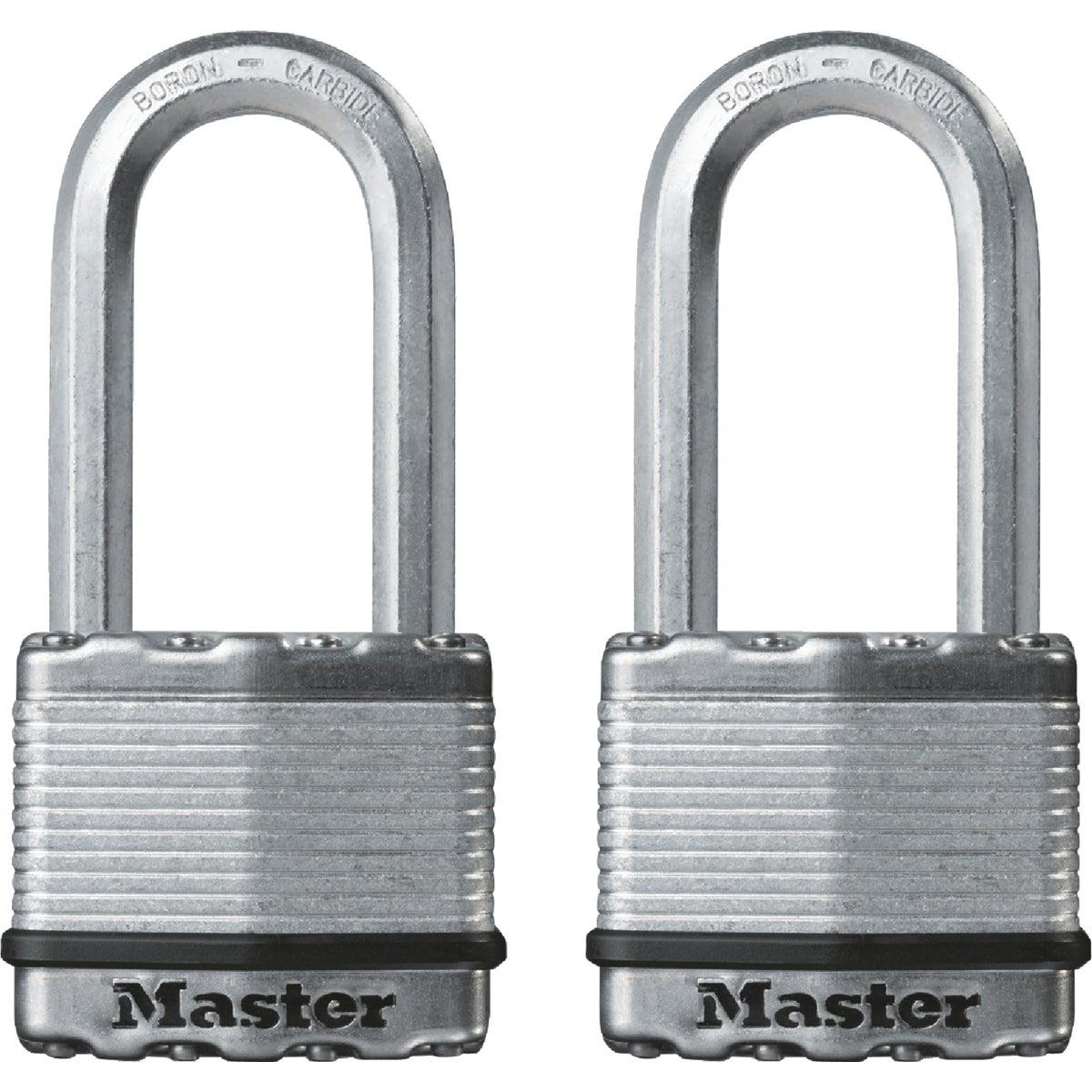 """2PK 2"""" MAG LONG PADLOCK - M5XTLH by Master Lock Company"""