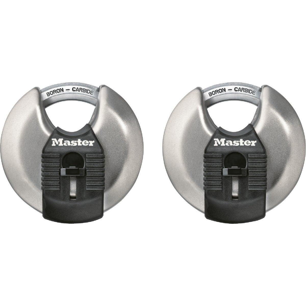 2PK MAG DISCUS PADLOCK - M40XT by Master Lock Company
