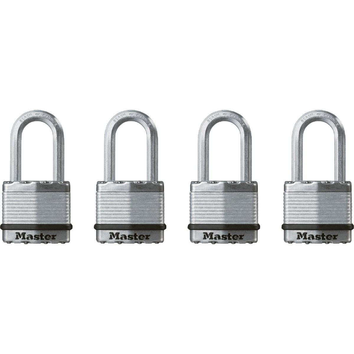 4PK 1-3/4 MAG LG PADLOCK - M1XQLF by Master Lock Company