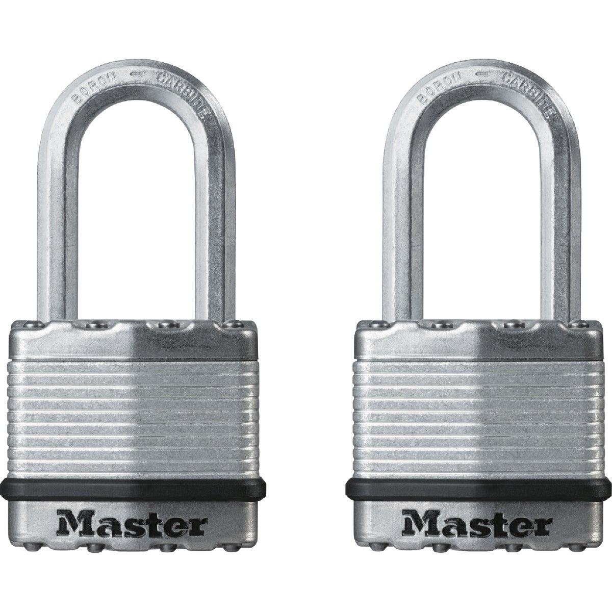 2PK 1-3/4 MAG LG PADLOCK - M1XTLF by Master Lock Company