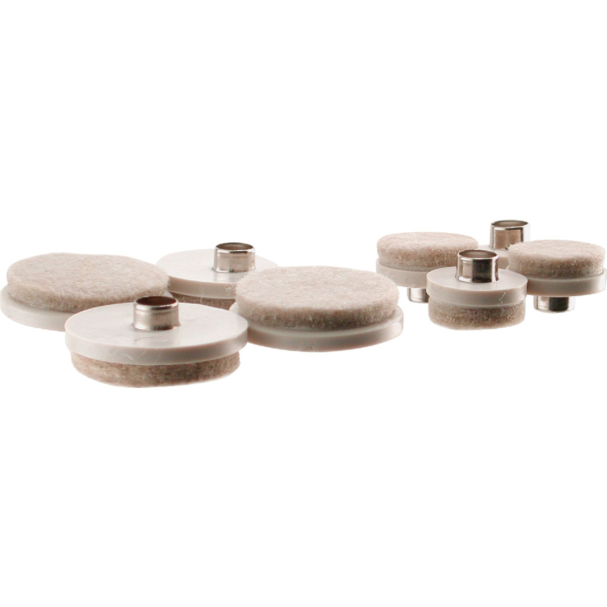 20PC ALMD FELT SET GLIDE - 238139 by Shepherd Hardware