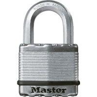 Master Lock 2 In. Wide Boron Shackle Magnum Keyed Padlock, M5KA