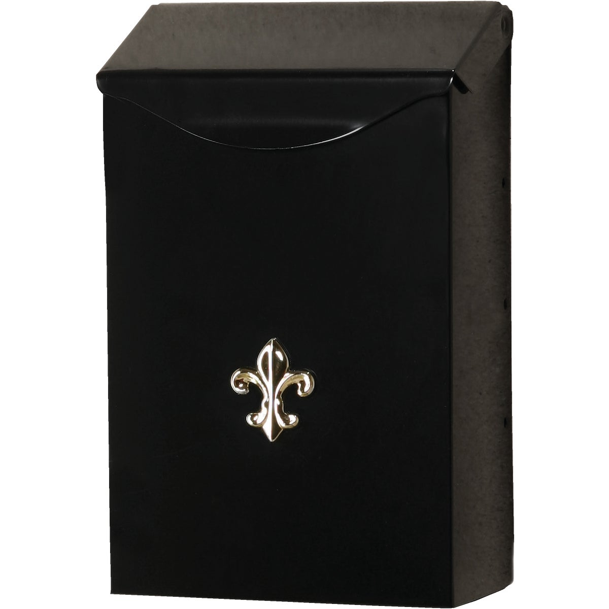 BLK VERT WALL MAILBOX - BW110000 by Solar Group