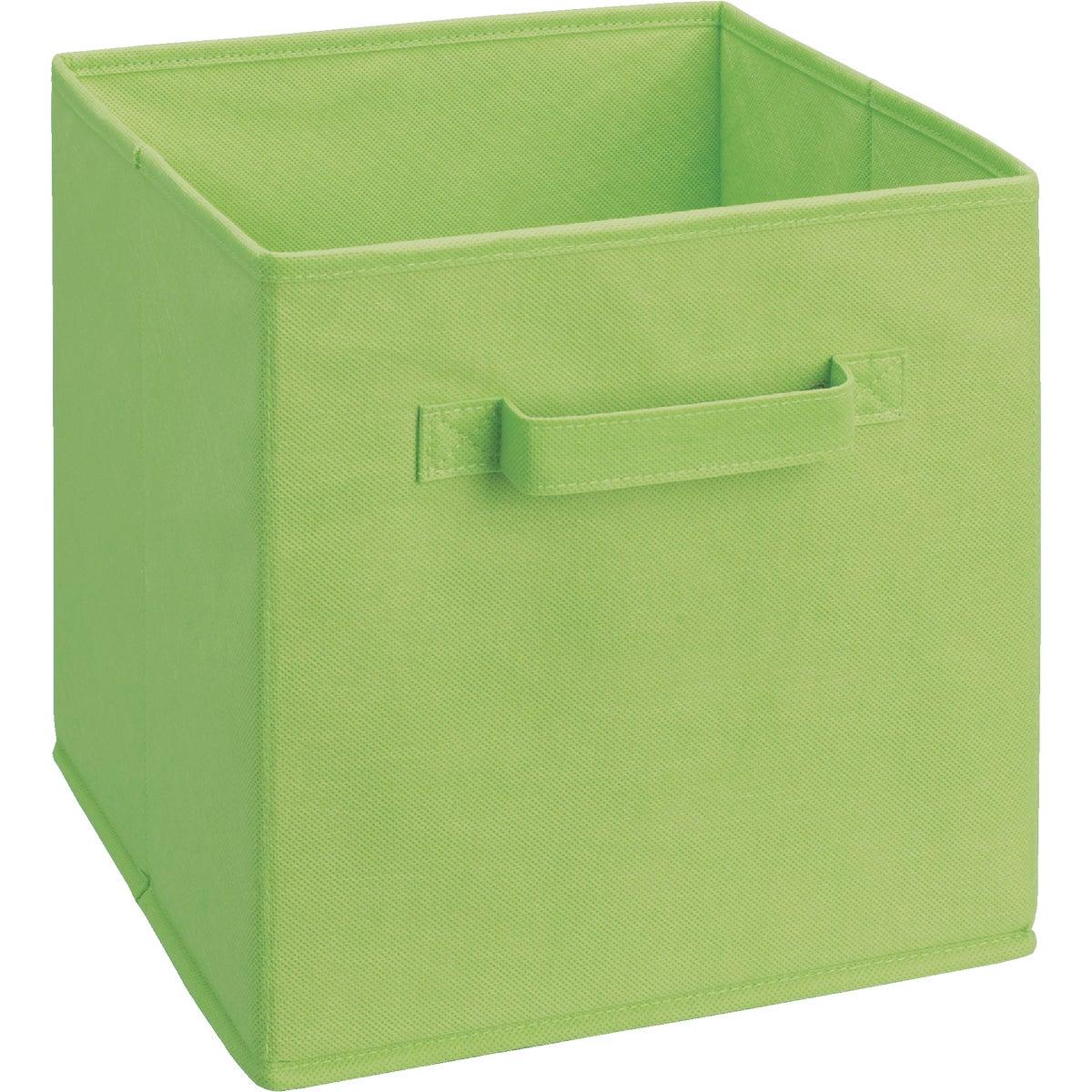 GREEN FABRIC DRAWER