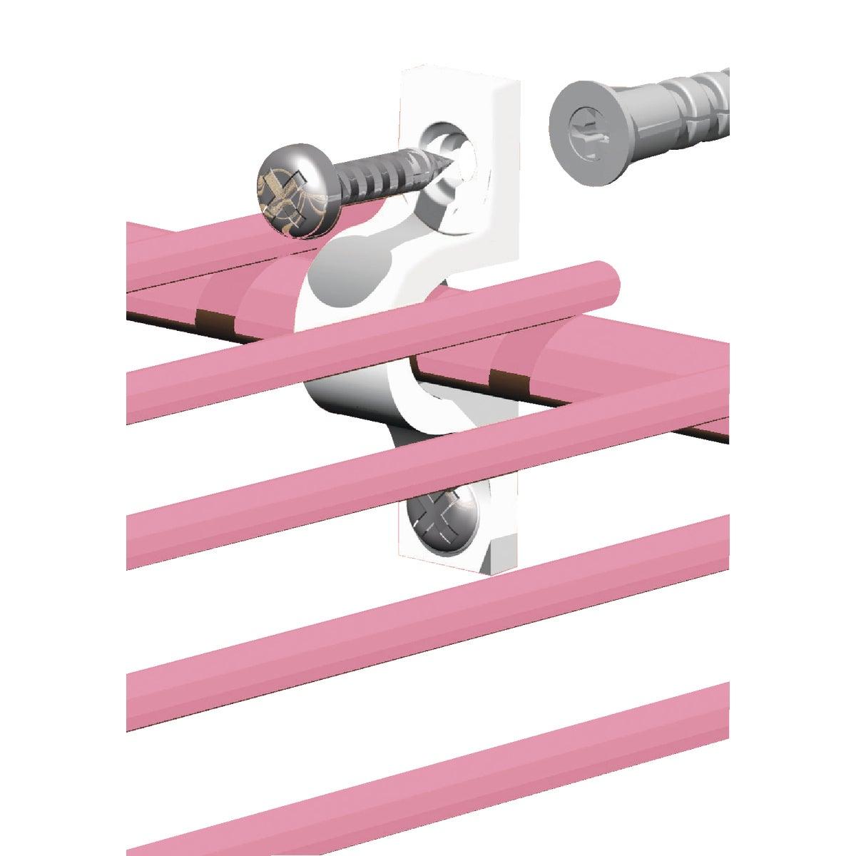 Closetmaid Concrete Wire Shelf Wall Clip (12 Count)