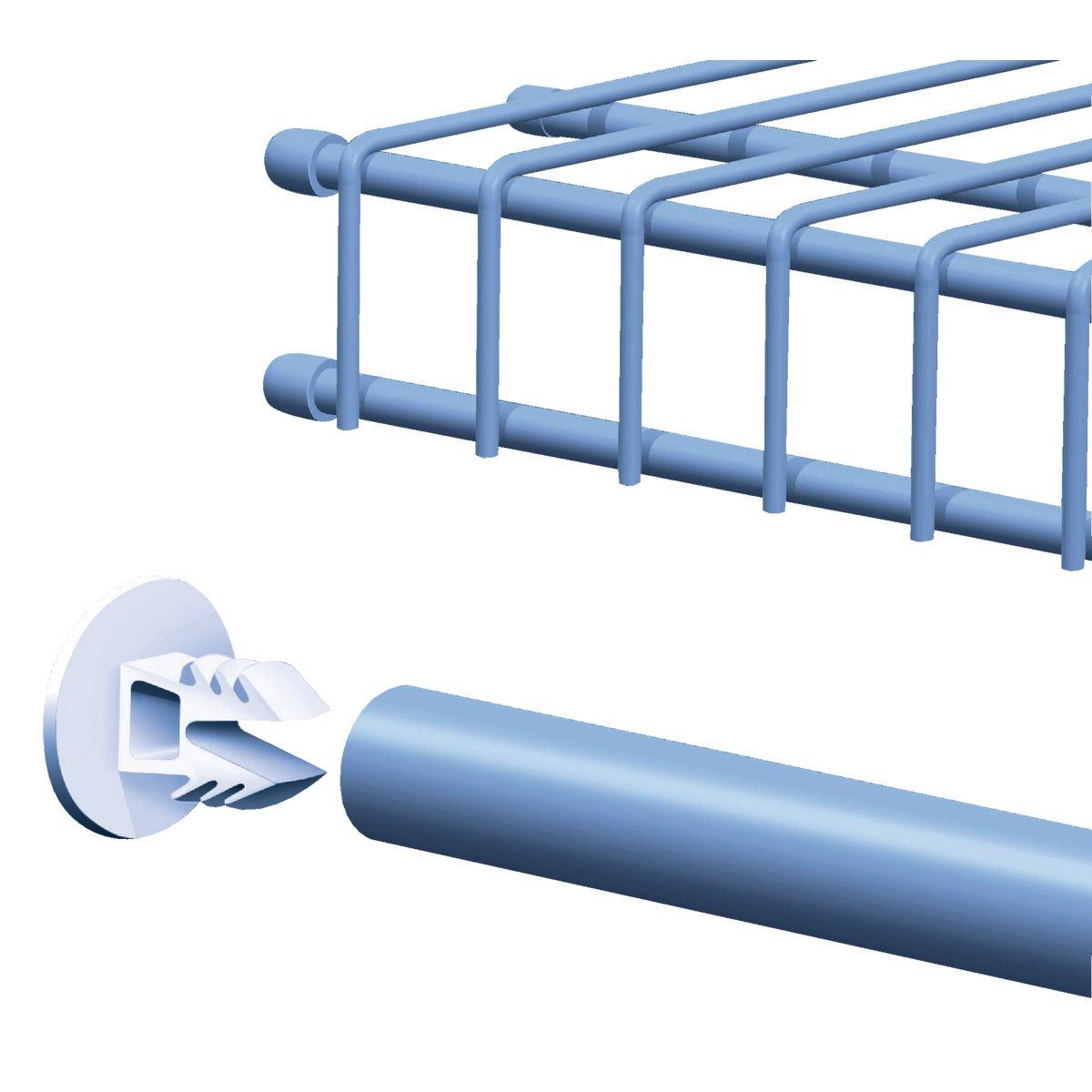 ClosetMaid SuperSlide Wire Shelf End Cap, 7563800