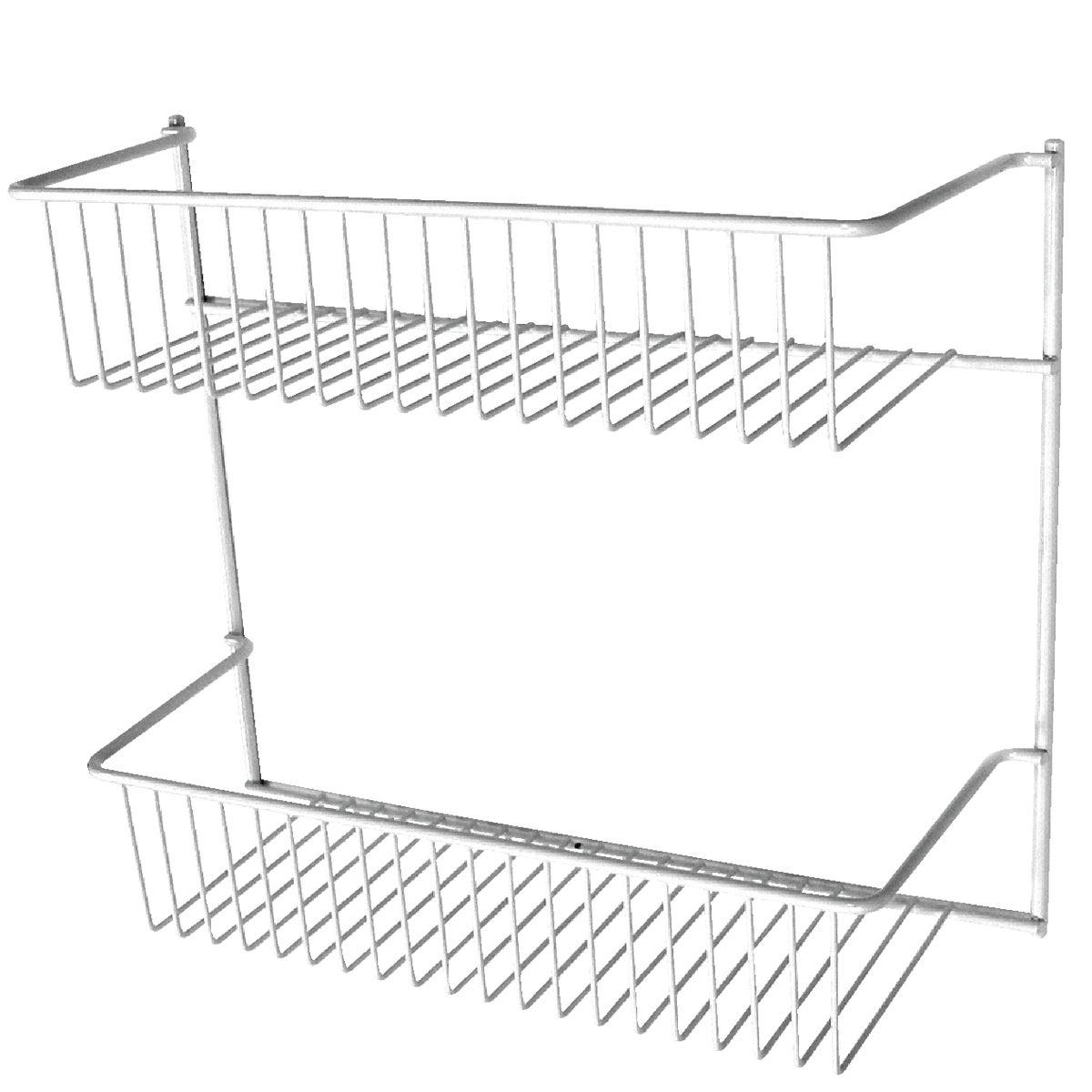 2-Tier Wall Storage Rack