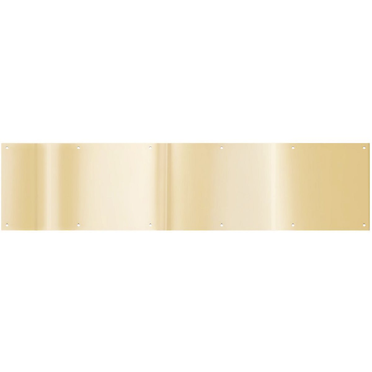 "8X34"" BRASS KICKPLATE - N244079 by National Mfg Co"