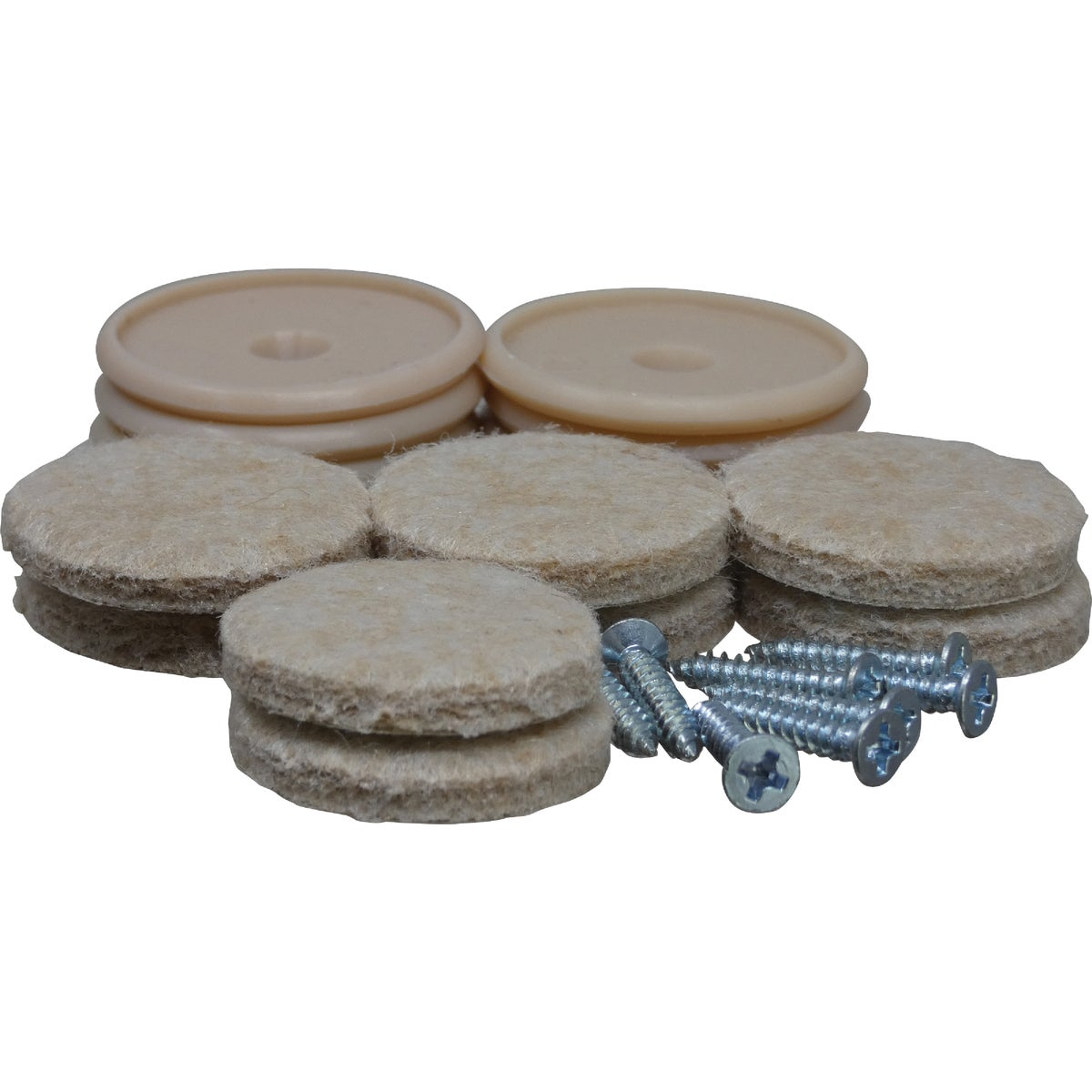 Do it 1 In. Beige Self Adhesive Felt Pads (8-Pack)