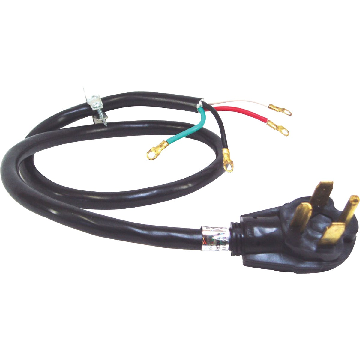 4' DRYER CORD - E-066B by U S Hardware