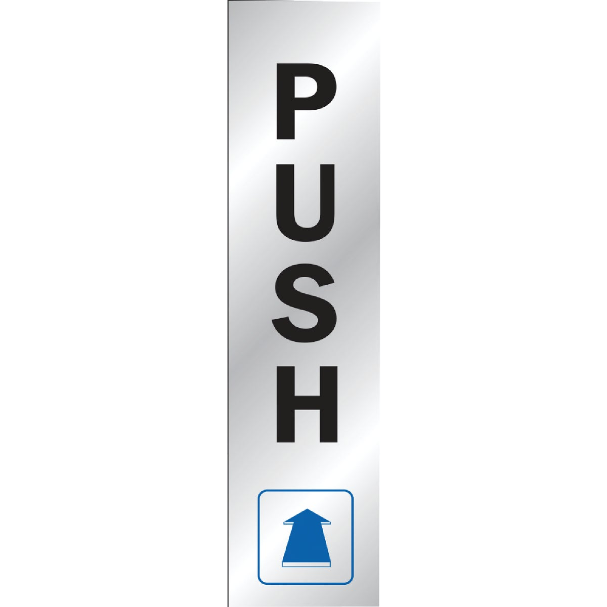 8-1/2X2 PUSH SIGN - 435 by Hy Ko Prods Co