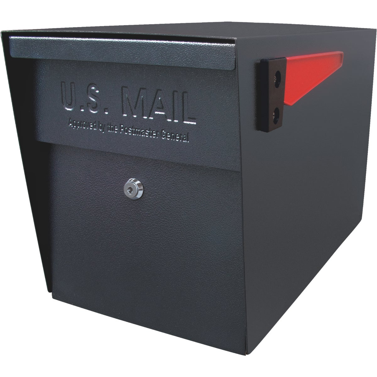BLK MAILBOSS MAILBOX - 7106 by Mail Boss