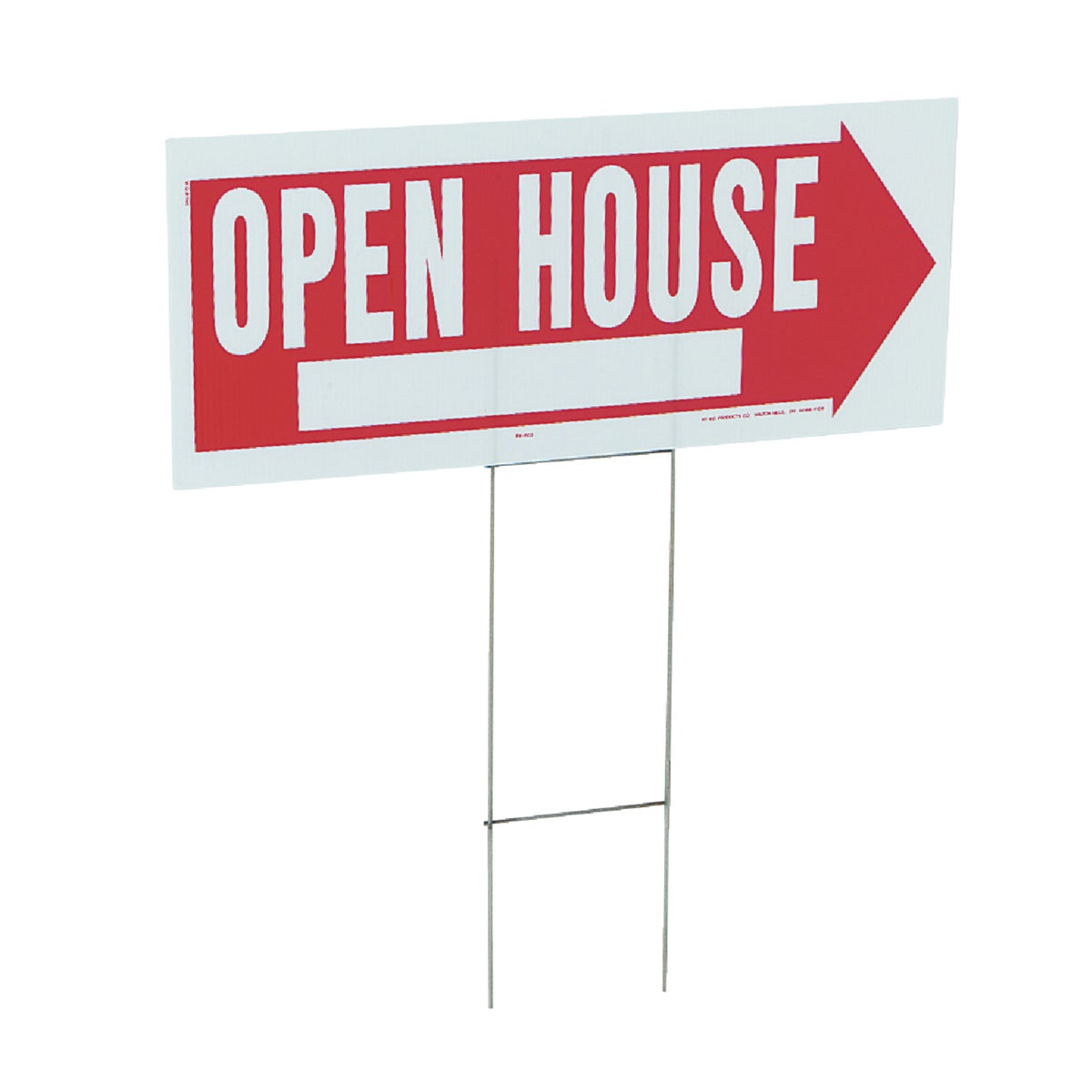 10X24 OPEN HOUSE SIGN - RS-803 by Hy Ko Prods Co