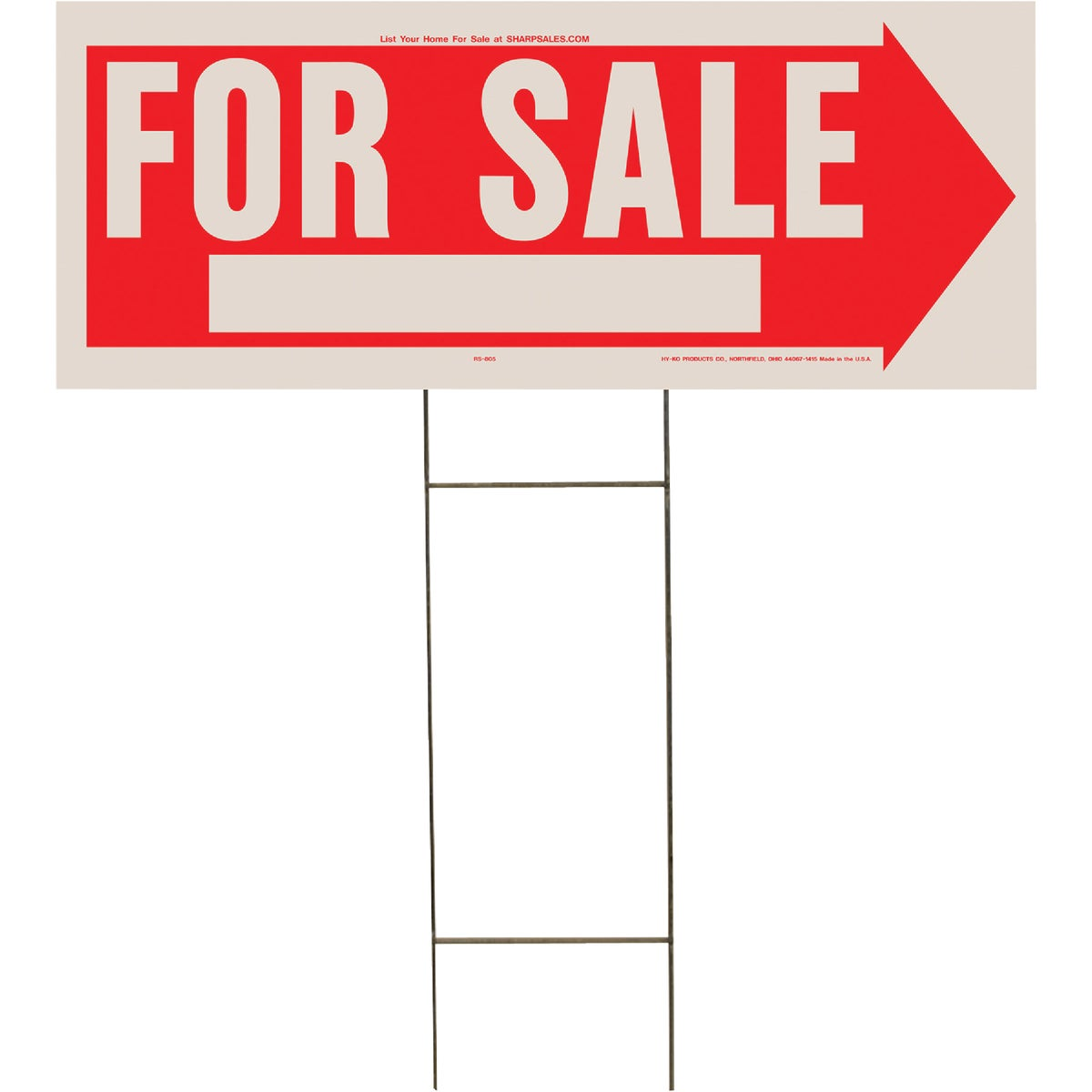 10X24 FOR SALE SIGN