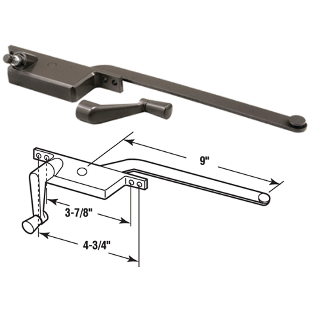 RIGHT CASEMENT OPERATOR - 17390-RB by Prime Line Products