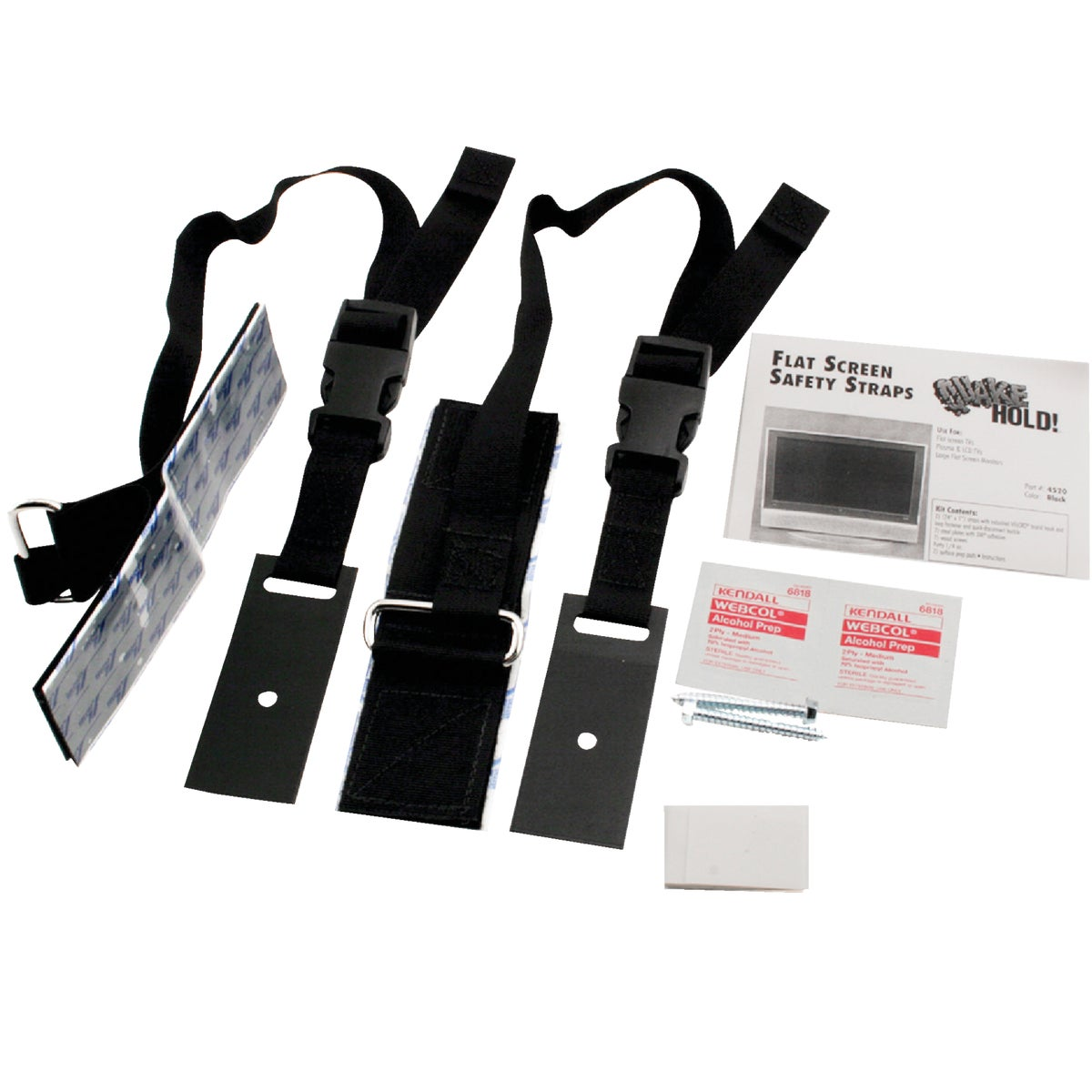 UNIV FLAT SCRN TV STRAP - 4520 by Ready America Inc