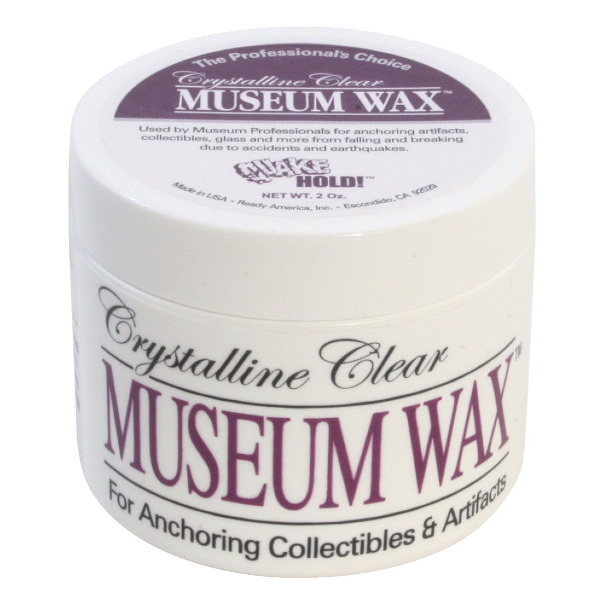 2 OZ MUSEUM WAX - 66111 by Ready America Inc