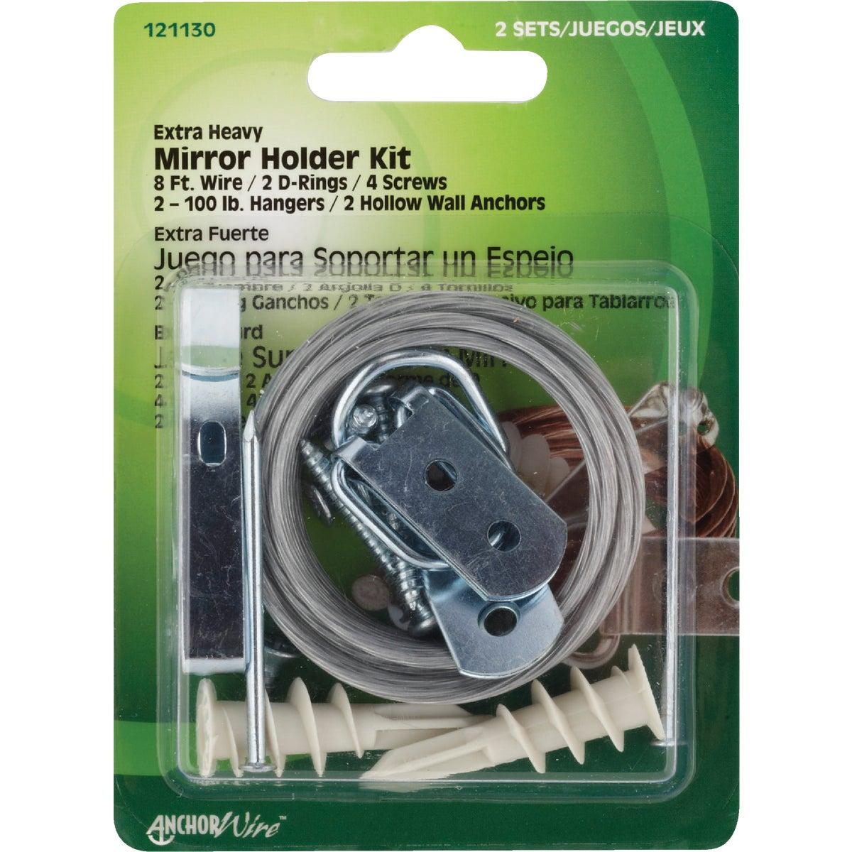 H/D MIRROR HANGER - 121130 by Hillman Fastener