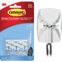 Command Clear Wire Adhesive Hook