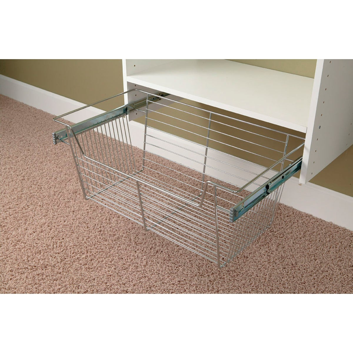 "11"" CHROME WIRE BASKET - 9211-CH by The Stow Company"