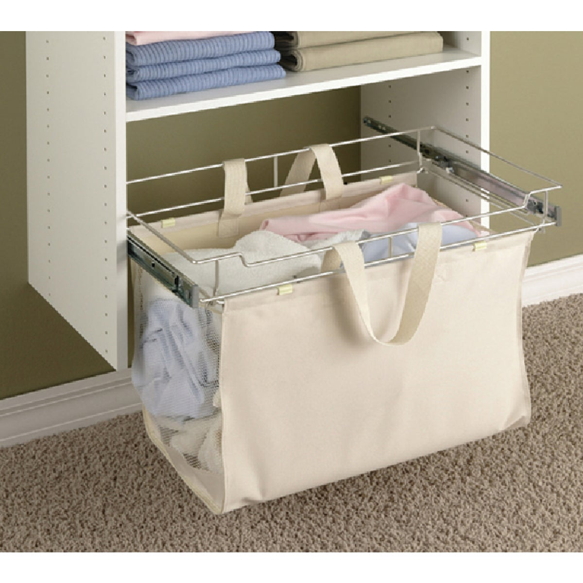 EASY TRACK CLOSET HAMPER - 9200-CH by The Stow Company