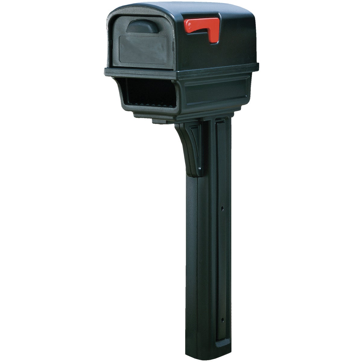 BLK GNTRY MAILBOX & POST - GC1B0000 by Solar Group