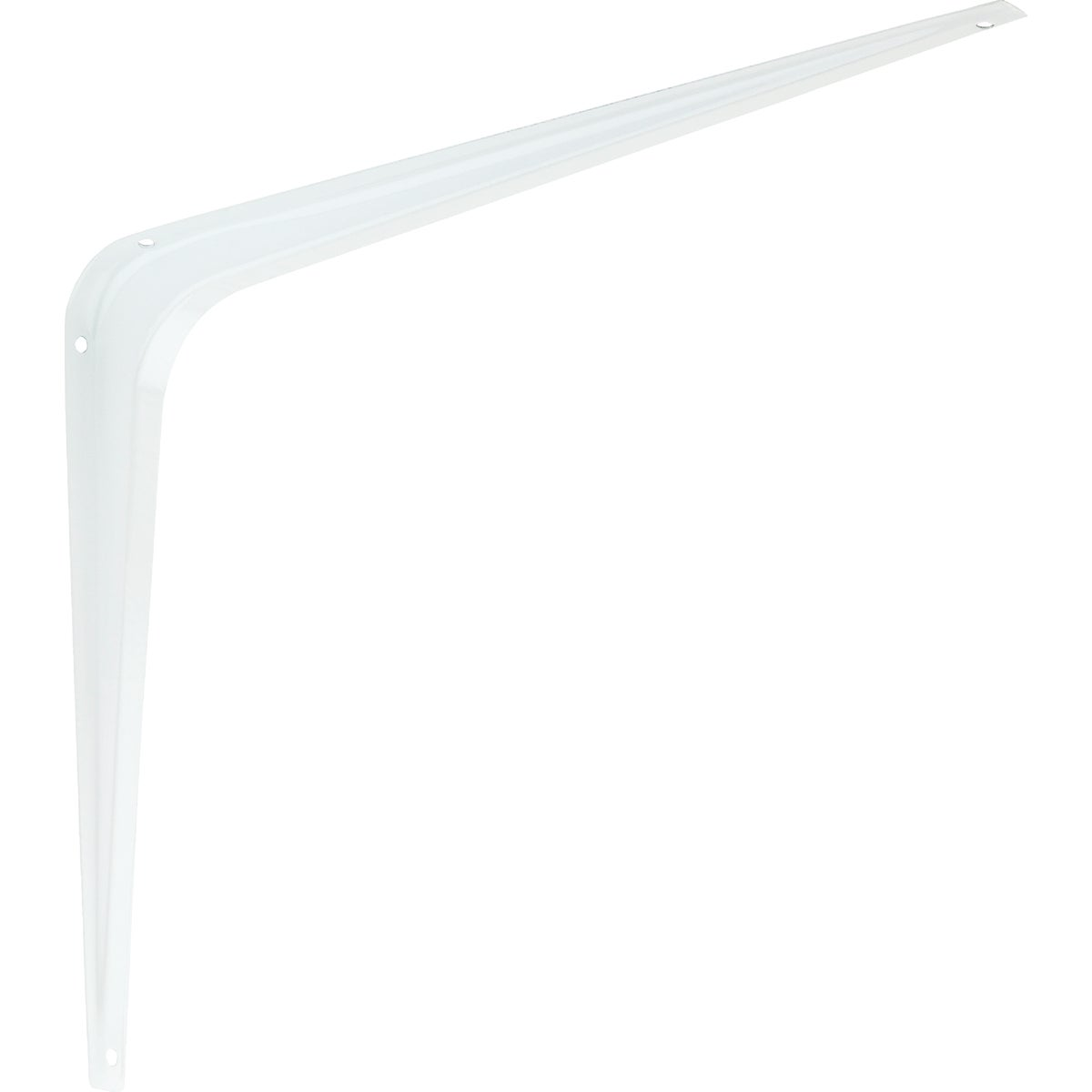 10X12 WHT SHELF BRACKET