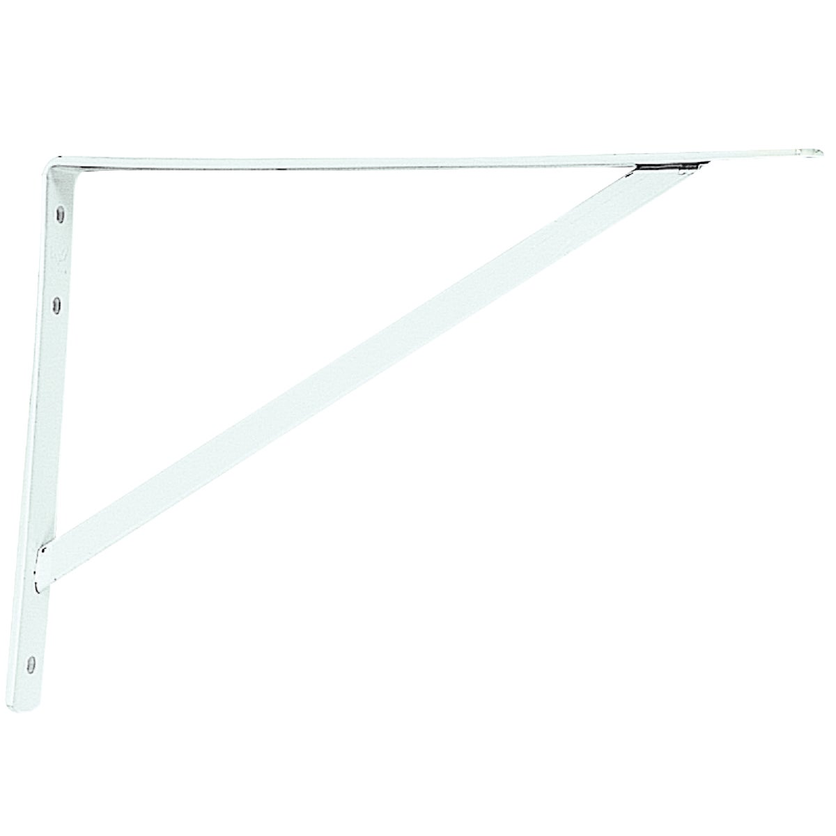 "16"" WHITE BRACKET - 208WH400 by Knape & Vogt Mfg Co"