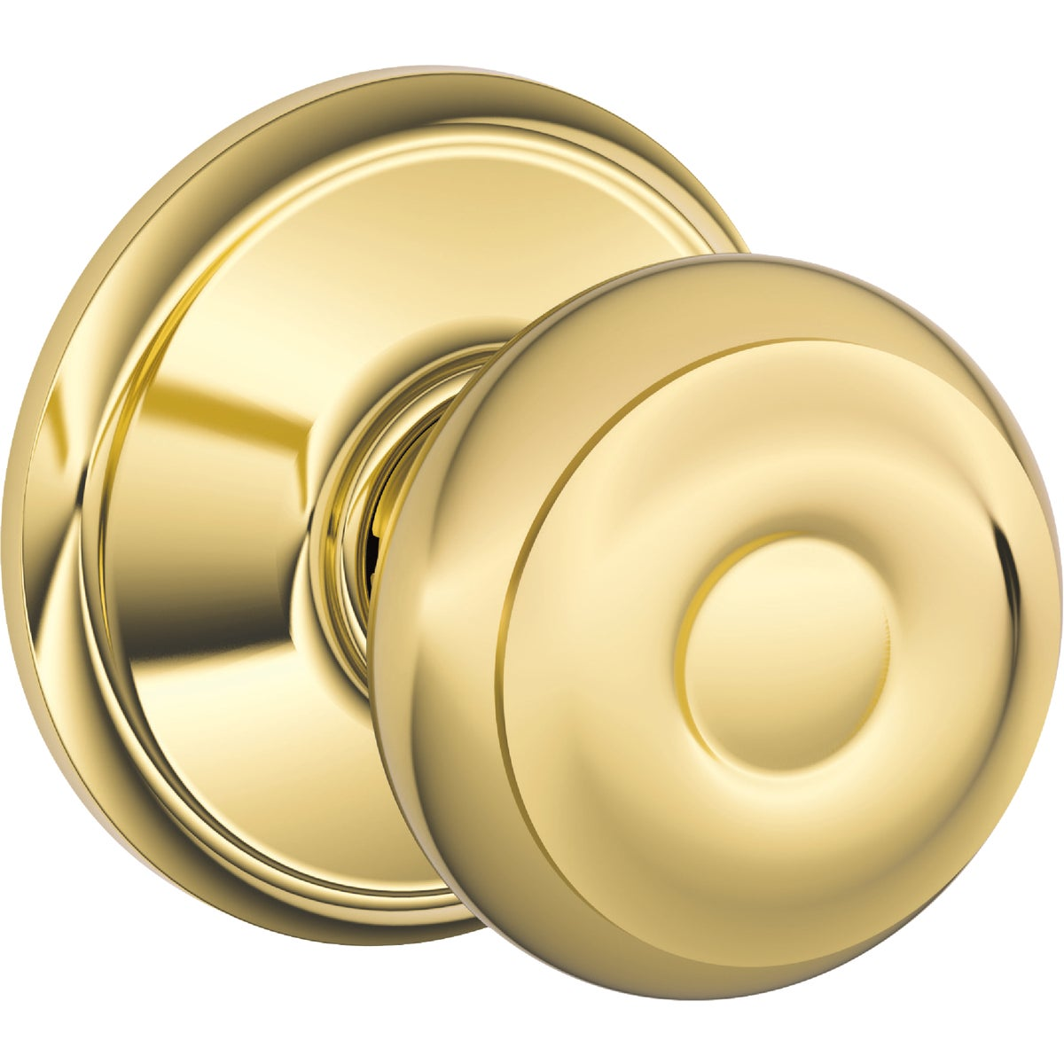PB GEORGIAN PASSAGE KNOB - F10VGEO605 by Schlage Lock Co