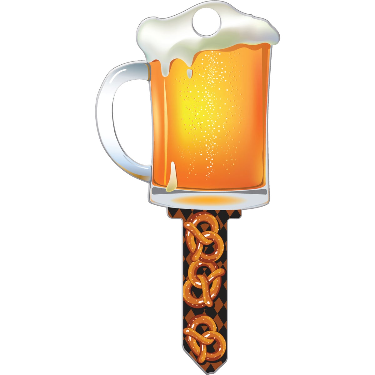 SC1 BEER MUG DOOR KEY - B110S by Lucky Line Prod Inc