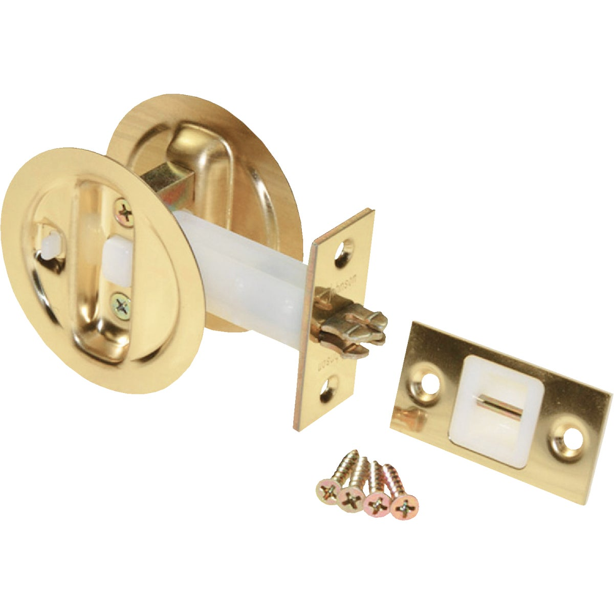Johnson Prod. BRASS PRIVACY LOCK 15213PK1
