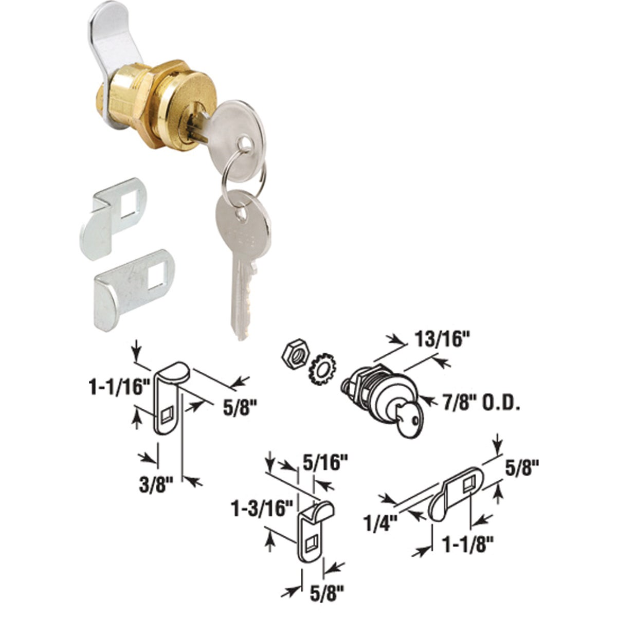 MAILBOX LOCK - S 4648 by Prime Line Products