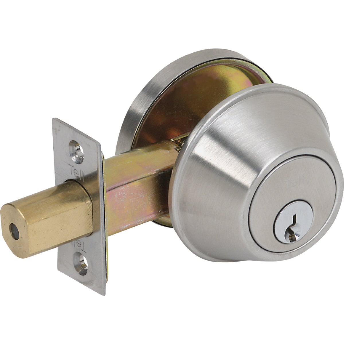26D HD COMM 1CY DEADBOLT - CL100055 by Tell Mfg Inc