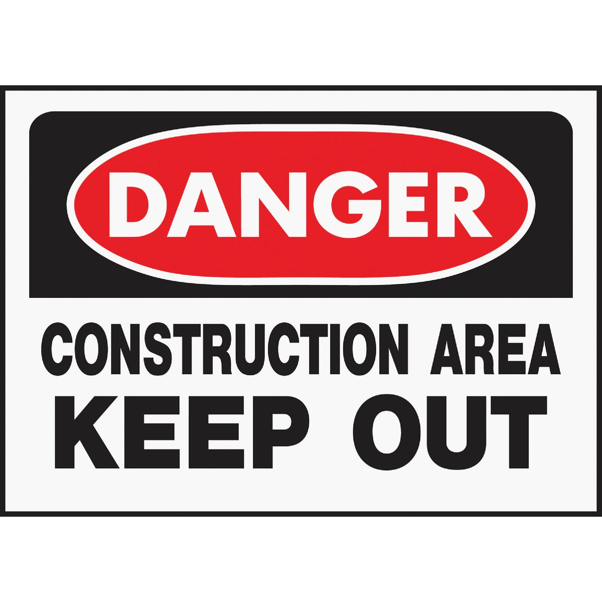 10X14CONSTRCTN AREA SIGN