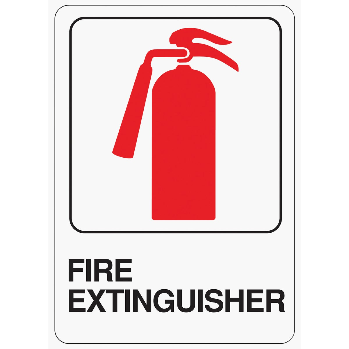 5X7 FIRE EXTINGSHER SIGN - D-16 by Hy Ko Prods Co