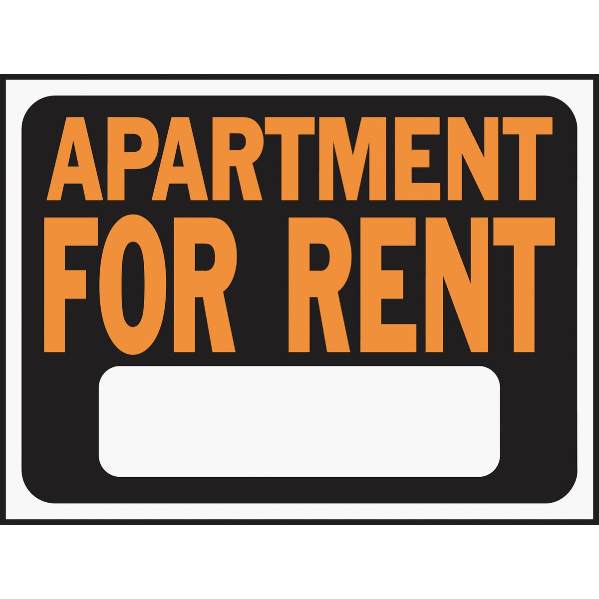 9X12 APT FOR RENT SIGN - 3001 by Hy Ko Prods Co