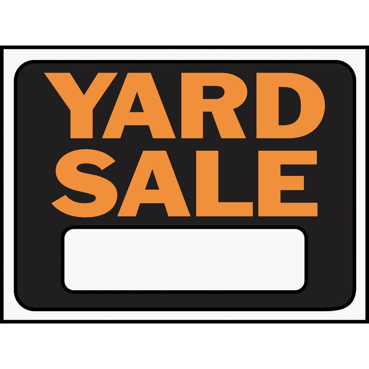 9X12 YARD SALE SIGN